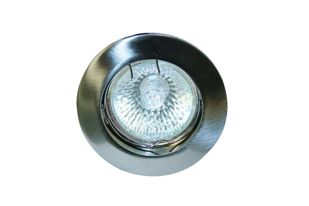 GUN METAL 80mm FIXED DOWNLIGHT MR16