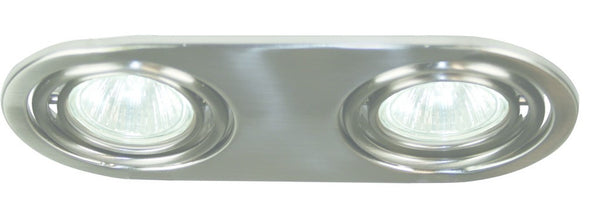 CHROME DOWNLIGHT 2xMR16 50W