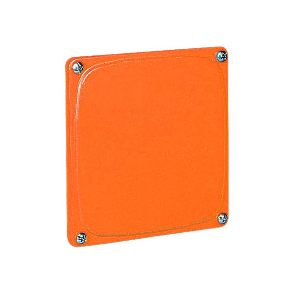 FLAT COVER FOR 4 WAY JUNCTION BOX 125X125MM