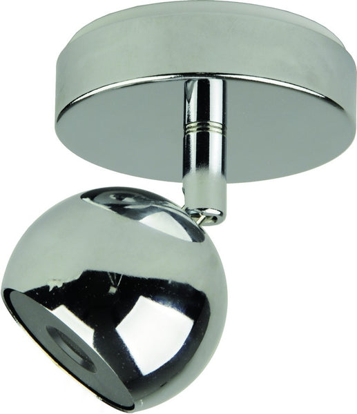 230VAC 5W CHROME LED INTEGRATED ADJ. SPOT LIGHT 4000K