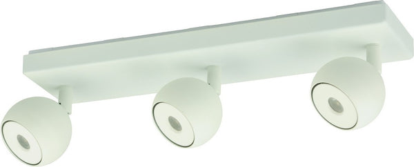 230VAC 16W WHITE LED INTEGRATED 3X ADJ. SPOT LIGHT 4000K