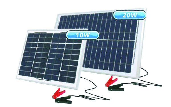 12V 10W PORTABLE SOLAR CHARGER 359X305X18MM