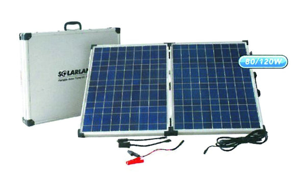 12V 2x60W PORTABLE SOLAR CHARGER