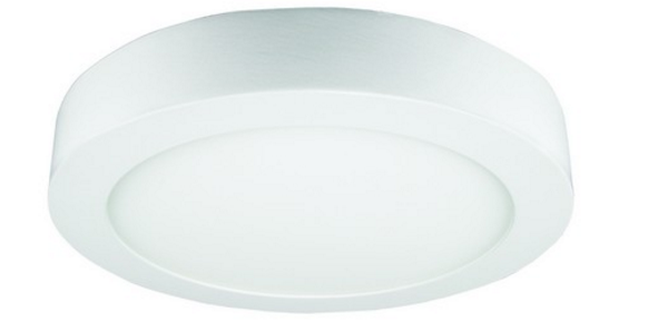 85-265VAC,6W,WARM WHITE,ROUND,SURFACE MOUNT LED,120X35mm