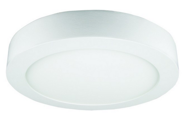 85-265VAC,18W,COOL WHITE,ROUND,SURFACE MOUNT LED,225X35mm