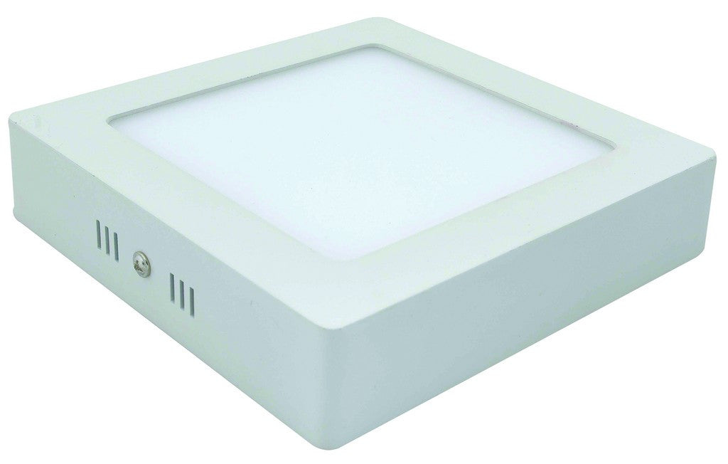 85-265VAC,18W,COOL WHITE,SQUARE,SURFACE MOUNT LED,225X225X40