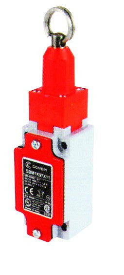 PULL WIRE LIMIT SWITCH 1C/O 4.7KG M20 WITH RESET