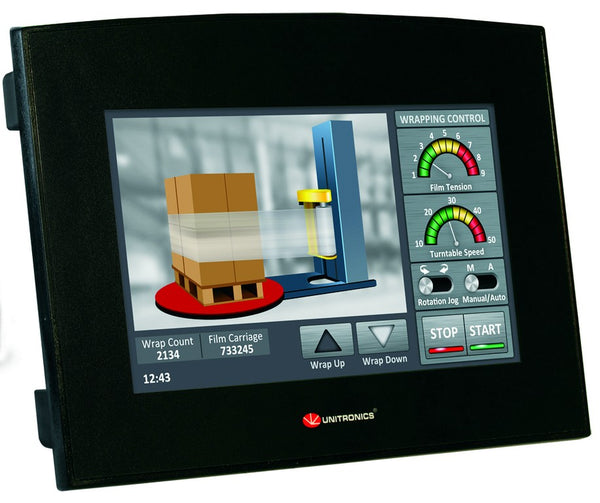"SAMBA PLC/HMI 24VDC 12 IN / 8 RELAY OUT 7"" DISPLAY"