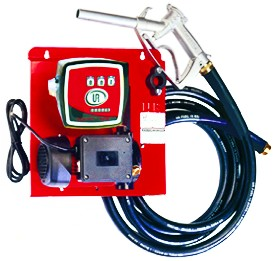 230VAC DIESEL PUMP KIT 110L/M C/W WALL BKT AND FLOW METER