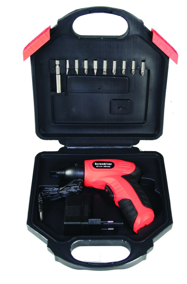 3.6V CORDLESS SCREWDRIVER PISTOL GRIP RED