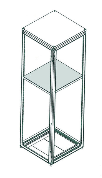 GALV HORIZONTAL PARTITION KIT 600x600D