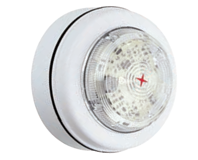 9-60VDC WHITE LED BEACON IP33