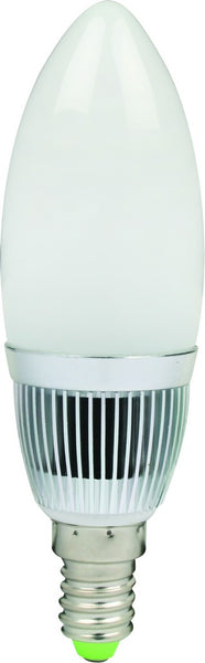 230VAC 1.6W COOL WHITE E14 LAMP CANDLE TYPE