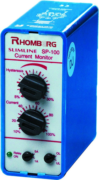 115VAC 1A/5A AC/DC CURRENT MONITOR WITH DELAY