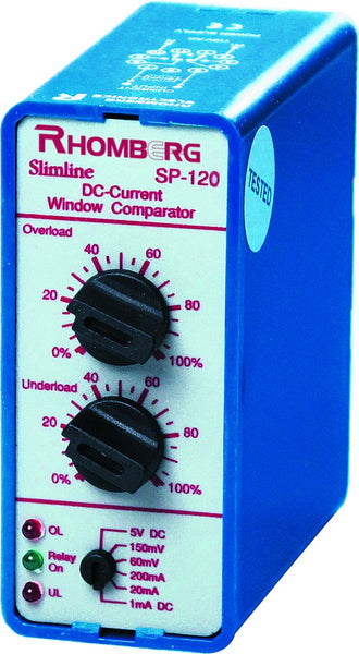440VAC 1A/5A AC/DC CURRENT WINDOW COMPARATOR