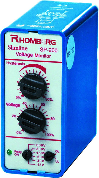 72VDC SUPPLY 15-600AC/DC SENSING VOLTAGE MONITOR