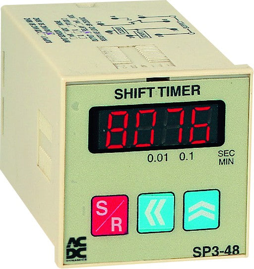 230VAC MULTI RANGE 4 DIGIT UP/DOWN TIMER