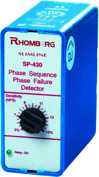 115VAC 3 PH+N SEQUENCE/ FAILURE / ASYMMETRY SUPPLY MONITOR