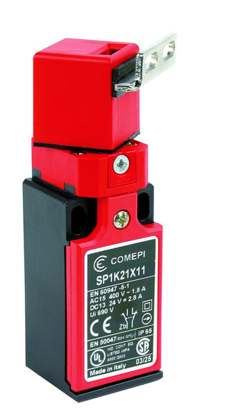 SAFETY LIMIT SWITCH 360° ROTATING HEAD 1C/O 3A IP65