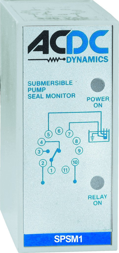 PUMP SEAL MONITOR RELAY 2C/O