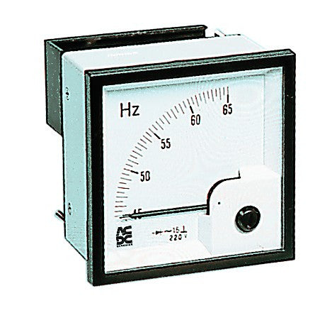 48mm FREQUENCY METER 45-65HZ
