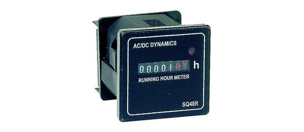 10-80VDC RUNNING HOUR METER DIN RAIL MOUNTING