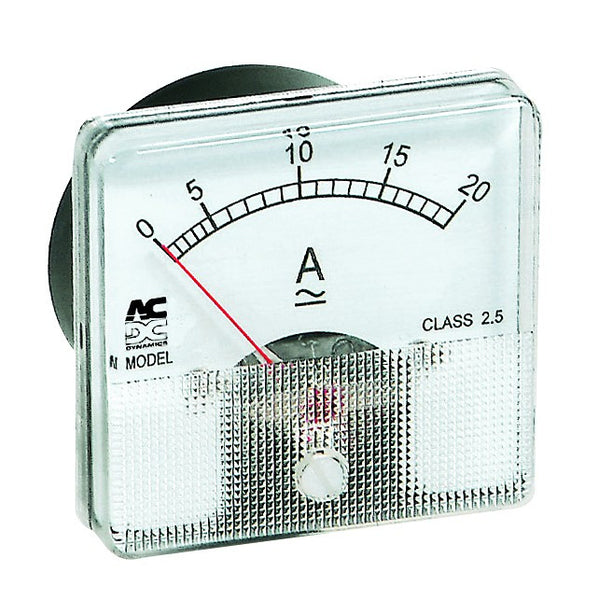 AMMETER AC CT DRIVEN W/O SCALE PLATE