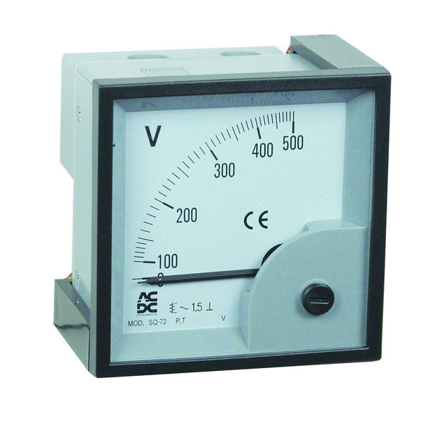 COMBINED MAX-DEMAND AMMETER W/O SCALE