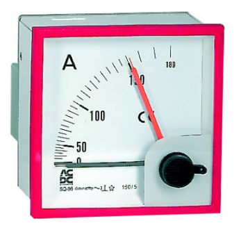 MAX-DEMAND AMMETER W/O SCALE