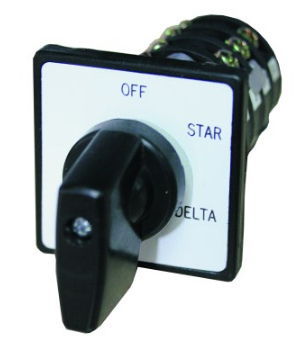 20A 3PH DOOR MOUNT STAR/DELTA SWITCH
