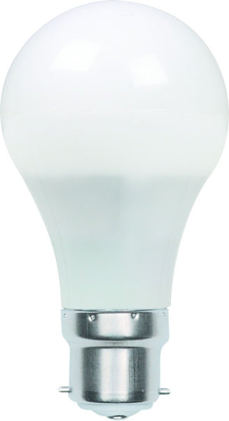 110-240VAC 5W PURE WHITE LED BULB B22 4200K