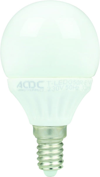 230VAC WARM WHITE LED LAMP 3W E14
