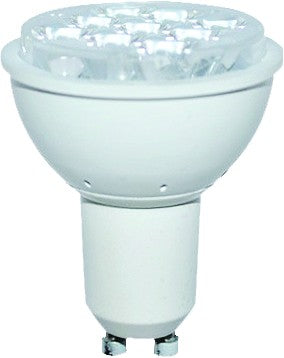 230VAC COOL WHITE LED SPOT LIGHT 4W GU10 36DEG