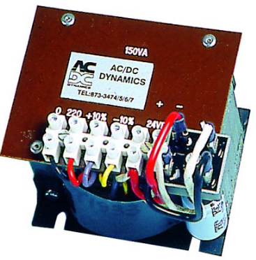 230/12VDC 8A DIN UNREG. POWER SUPPLY