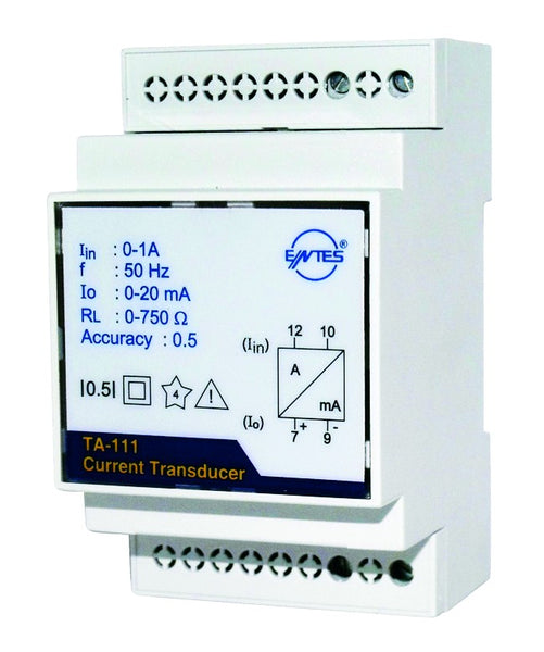 SELF POWERED DIN RAIL TRANSDUCER IN 0-230VAC OUT 0-20MA