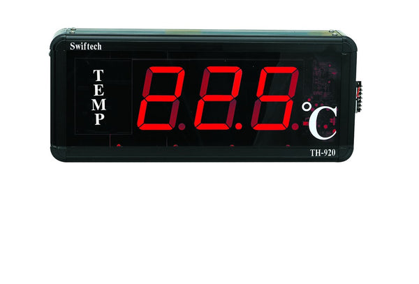 LARGE TEMPERATURE INDICATOR PT100 INPUT