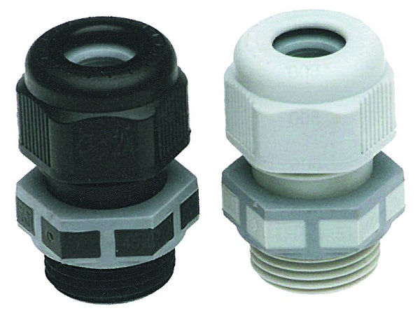 M25 CABLE GLAND BLACK -  PACK OF 5