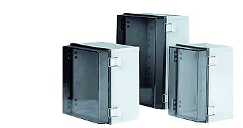 ENCLOSURE 300x300x180 CLEAR DOOR IP66