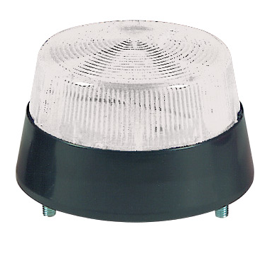 6-12VDC 3W CLEAR STROBE BEACON