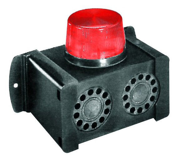 6-12VDC TWIN SIREN/RED BEACON