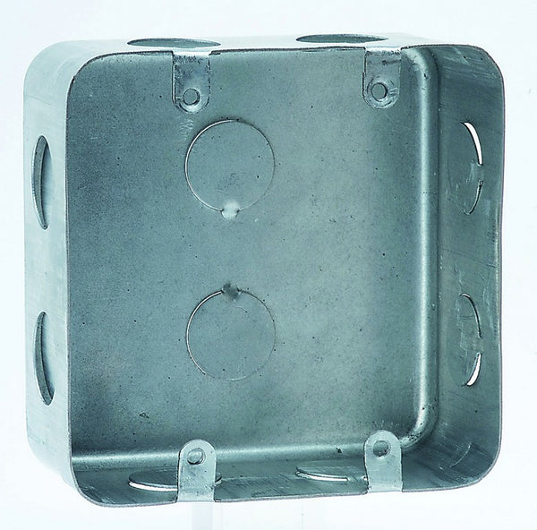 "4x4"" METAL FLUSH WALL BOX (105.5x105.5x50Dmm)"