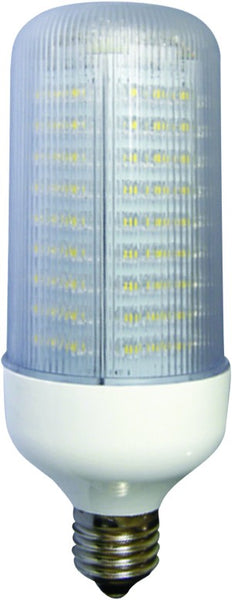 E27 LED LAMP 85-265VAC 8W NON-DIMMABLE WARM WHITE
