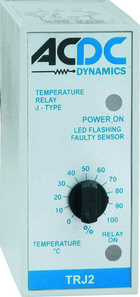 TYPE J TEMPERATURE RELAY 0-400DEG C 1C/O