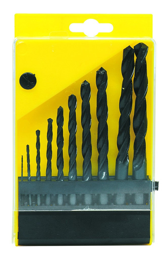 TWIST DRILL SET 10 PIECE