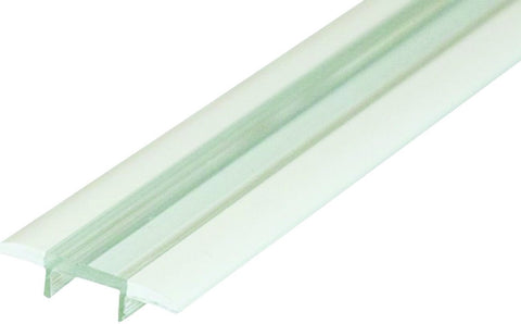 """U"" PROFILE CLEAR COVER FLUSH 2METER LENGTH"