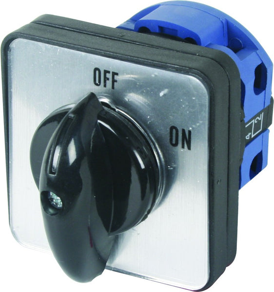 75A 2P ROTARY ISOLATOR C/W PL HANDLE