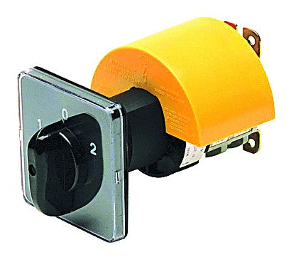 40A 4P 1-0-2 DOOR MOUNT C/O SWITCH