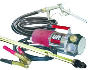 12VDC DIESEL PUMP KIT 80L/M C/W HOSE, NOZZLE, SUCTION TUBE