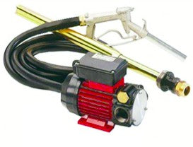 230VAC DIESEL PUMP KIT 110L/M C/W HOSE, NOZZLE, SUCTION TUBE
