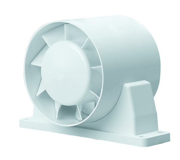 AXIAL IN-LINE DUCT FAN 125MM DIA